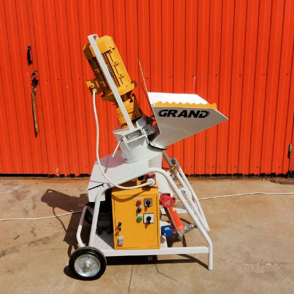 Аппарат для нанесения строительного раствора рикша для бетона